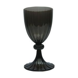 Translucent Black Melon Wine Goblet - $13.95