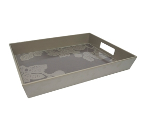 Fig Leaf Melamine Serving Tray - $49.95