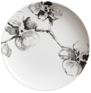 """Black Orchid 11"""" Melamine Dinner Plate - $15.95"""